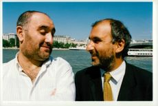 Alexei Sayle and Alan Yentob.
