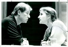 Penny Downie and Alan Howard.