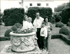 The royal family at Solliden