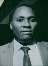 Portrait of Dawson Mwanyumba, 1963.