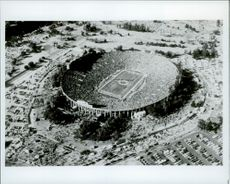 OS in Los Angeles 1984. The football arena Rose Bowl