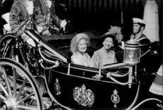 Queen of the Wagon Cards at Prince Andrew and Sarah Ferguson's Wedding