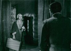 "Inga Tidblad in a scene from ""Divorced""."