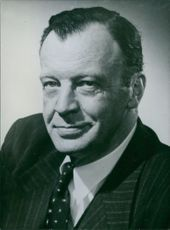 A photograph of George Nowlon Former Minister of National Revenue in the Government of Mr. John Diefenbaker. Canada.
