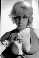 Portrait image of Diana Dors taken in an unknown context.