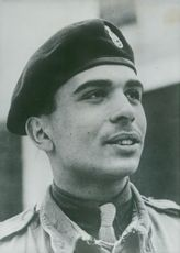 King Hussein of Jordan