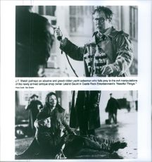 Still of J. T. Walsh, Ed Harris and Bonnie Bedelia in Needful Things.