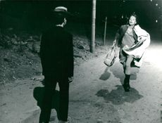 Jan Nielsen and Elina Salo in the film Harry Munter