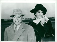 Sophia Loren and Carlo Ponti