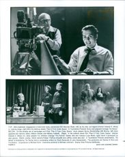 "Scenes of the movie, ""Ed Wood""."