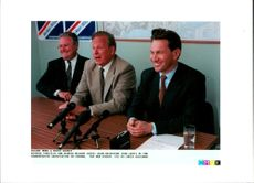 Michael Portillo , Mcnair Wilson and Alam Griefeiths.