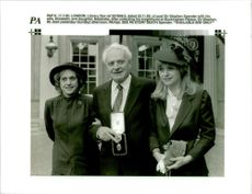 Sir Stephen with his Wife Elizabeth and Daughter Natasha