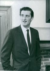 Timothy Tollemache posing and smiling.