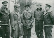 Viscount Montgomery along with the British Army
