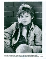 """Close up of Jason James Richter on the poster of the movie, """"Free Willy""""."""