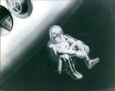 An illustration of astronaut of space.