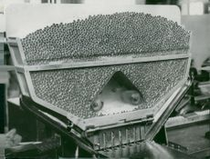 Tobacco monopoly factory. Cigarettes ready for price tagging of brand