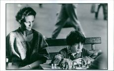 A scene from the film Searching for Bobby Fischer.