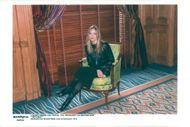 Michelle Pfeiffer during the photo session in Paris