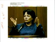 Rosa Lopez testifies on Videotape in the O.J Simpson murder trial.