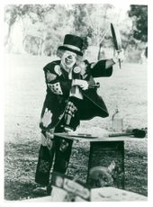 """Mickey Rooney in the movie """"Clown Jack"""" on TV1"""