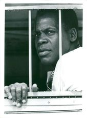 "Danny Glover plays Nelson Mandela in the movie ""Mandela - a struggle for freedom"""