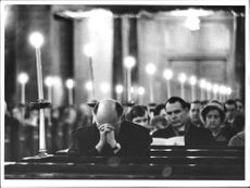 midnight mass in Jakobs Church in Stockholm.
