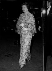 """Queen Elizabeth arrives at the premiere of """"Superman the Movie"""" in Leicester Square"""