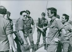 French peace-keeping troops in Lebanon, 1982.