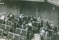 Nordic Inter Parliament meeting. 1916