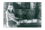 """Actress Brooke Shields in the movie """"Tilt"""""""