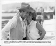 "James Garner and Sally Field in ""Murphy's Romance"""