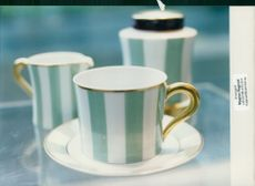 Photograph of cup and saucer.