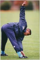 Leslie Ferdinand: England Football Training