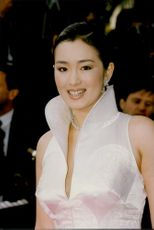 Portrait image of the Chinese actress and jury member Gong Li at the Cannes Film Festival.
