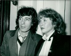 Bill Wyman with his wife.