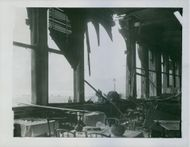 The German bombardment wrecked the Grand Hotel, Scarborough during WWII.