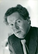 Portrait image of the drama director Erland Josephson taken in an unknown context.