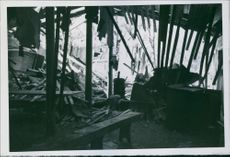 The war in northern Norway after the English bombardment of the German Narvik