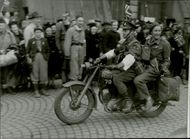 peace in Norway, 1945