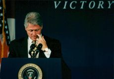 Bill Clinton talar vid National Convention