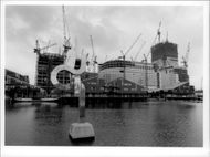 Docklands in London