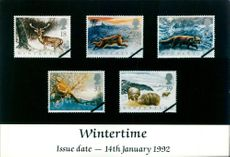 A Wintertime Stamps.