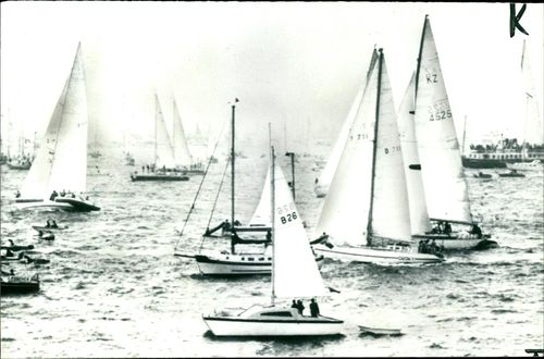 The World Yachts Race from Portsmouth.