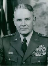 General Maxwell D.Taylor, Chief of Staff of the United States Army.  1964
