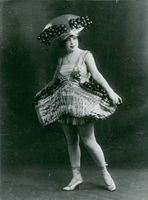 An entertainer from the Folies Bergère.