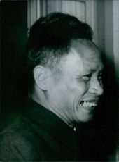 Portrait of Vietnamese politician Pham Van-Dong, 1965.
