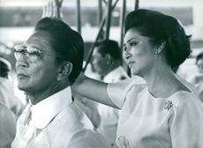 Philippine Politicians:President & Mme. Marcos