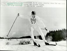 Bjarne Andersson during international competition