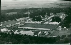 Royal Norfolk Show: Aerial View